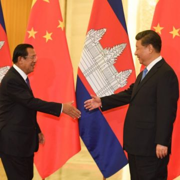 China's Troops to Cambodia