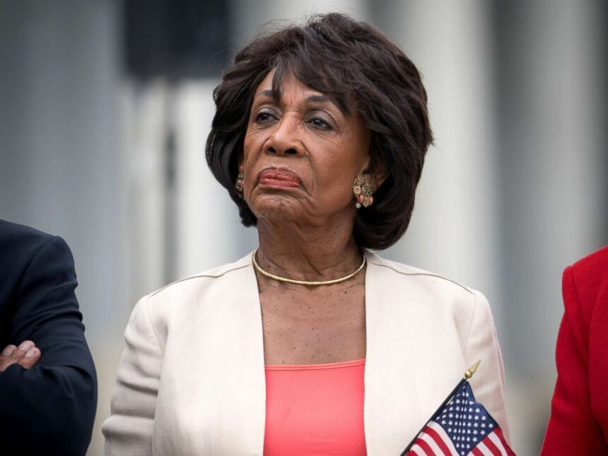 Maxine Waters demands removal of President Trump