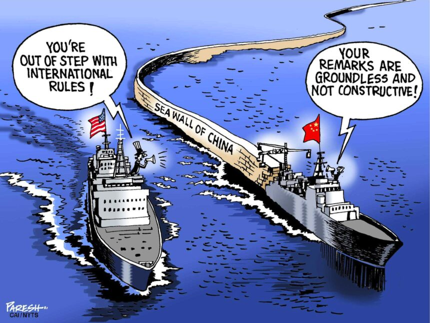 China expansionism is crucial to its ideology