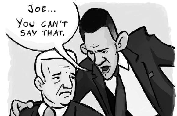 Joe Biden compares Senators Ted Cruz and Josh Hawley to Nazis
