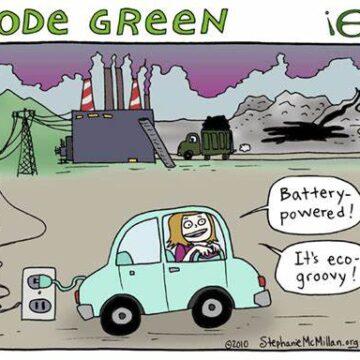 Renewable Energy Industry not clean, green or practical