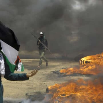 Aid to Palestinians retreat after Hamas fire at the group