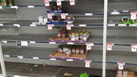 Supermarkets in Australia are running out of stock as Delta isolates workers